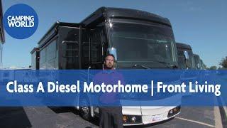 Download 2017 Monaco Diplomat 43S | Luxury Diesel Pusher | Class A Motorhome | Manhattan Bronze | Italian Sie Video