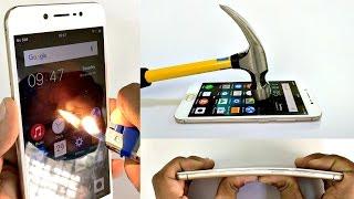 Download Vivo V5 - Scratch test, Hammer test, Burn test, Bend test Video