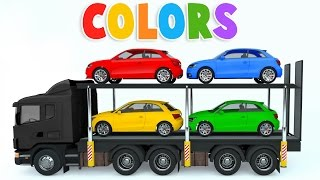 Download Colors for Children to Learn with Car Transporter Car Toys - Colours for Kids to Learn Video