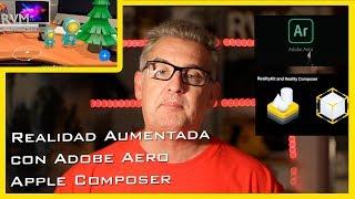 Download Realidad aumentada el futuro hoy con Adobe Aero y Apple reality Composer Castellano Español Video