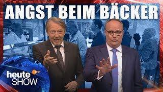 Download Christian Lindner hat Angst vor Ausländern beim Bäcker | heute-show vom 18.05.2018 Video