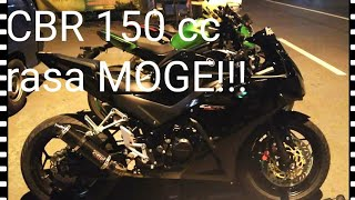 Download New CBR 150 Full Modifikasi - UPGRADE KAKI TAPAK LEBAR Video