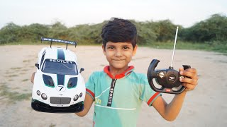 Download Kids Play with Rc Bentley Gt3 Unboxing testing Toys Rc Car Video