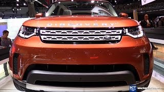 Download 2017 Land Rover Discovery Design Pack - Exterior and Interior Walkaround - 2016 LA Auto Show Video