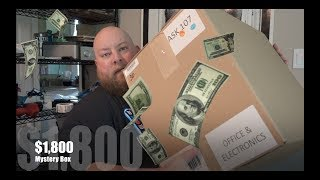 Download I bought an $1800 Amazon Electronics Customer Returns Pallet / Mystery Box Video