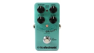 Download TC Electronic HyperGravity Compressor Pedal with TonePrint Video