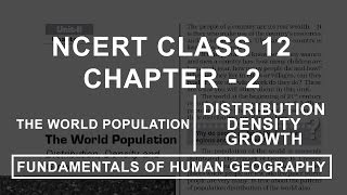 Human Geography | Nature and Scope - Chapter 1 Geography NCERT Class
