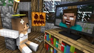 Download Monster School: Haunted House Halloween - Minecraft Animation Video