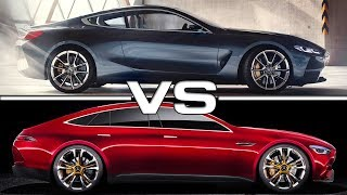 Download 2018 BMW 8 Series vs 2018 Mercedes AMG GT Concept Video