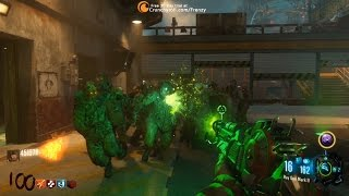 Download Ray Gun Mark II vs Round 100 Zombies - Zombies Chronicles - Ascension Remastered - Black Ops III Video