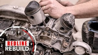 Download Harley-Davidson Sportster V-Twin Ironhead Engine Rebuild Time-Lapse | Redline Rebuild - S1E6 Video