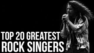 Download TOP 20 GREATEST ROCK SINGERS OF ALL TIME Video