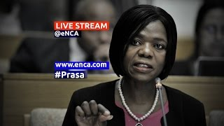 Download LIVE: Public Protector releases the Prasa report Video