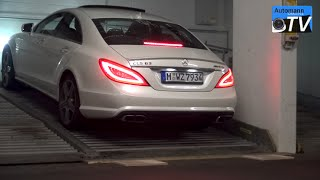 Download 2014 Mercedes CLS 63 AMG (558hp) - pure SOUND (1080p) Video