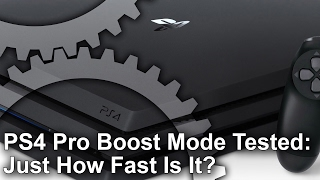 Download PS4 Pro Boost Mode Tested: Just How Fast Is It? Video