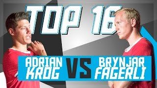 Download Brynjar Fagerli vs Adrian Krog (Top 16 Battle) - Super Ball 2016 | theFC Video
