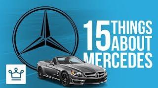 Download 15 Things You Didn't Know About MERCEDES-BENZ Video