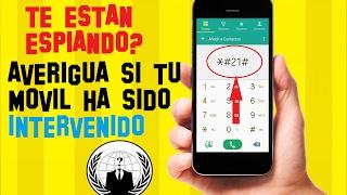 Download Cómo SABER si mi TELÉFONO está INTERVENIDO   SABER si te VIGILAN   TRIANGULACION de ANTENAS Video