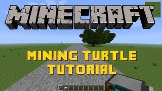 Download Minecraft | Mining Turtle Tutorial | Feed the Beast Video