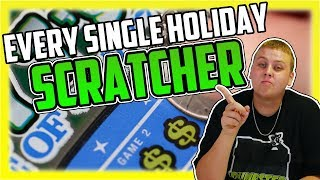 Download I Bought Every Lottery Ticket Holiday Themed Scratcher In The Machine! How Much Did I Win! Video