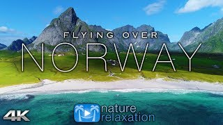 Download FLYING OVER NORWAY (4K UHD) 1HR Ambient Drone Film + Music by Nature Relaxation™ for Stress Relief Video
