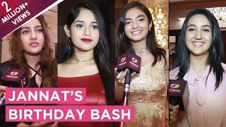 Download Jannat Zubair Rahmani's Star Studded Birthday Bash | Anushka, Ashnoor, Aashika, Siddharth & More Video