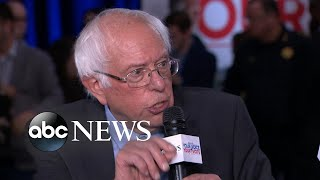 Download Sanders highlights health care plan after debate Video