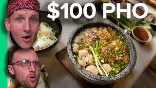 Download $2 PHO vs $100 PHO - Northern VS Southern Pho! (Có phụ đề Tiếng Việt) Video