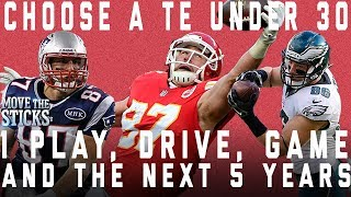 Download Choose A TE Under 30 for 1 Play, Drive, Game & the Next 5 Years (No repeats) | NFL Video