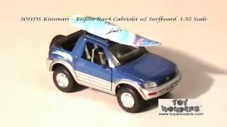 Download 5011DS-Kinsmart-Toyota-Rav4-Cabriolet-Surfboard-132-Diecast-Wholesale.mpg Video