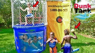 Download DUNK TANK CHALLENGE GIRLS VS. BOYS Video