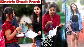 Download Electric Shock Prank on Girls | Awesome Reactions of Girls | Unglibaaz Video