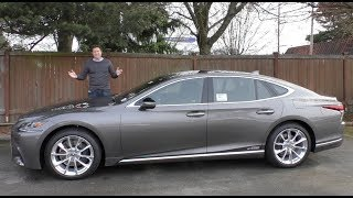 Download The 2018 Lexus LS 500 Is the $120,000 Ultimate Lexus Sedan Video