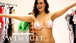 Download Lais Ribeiro, Kelly Gale & More 2017 Rookies: Bikini Change Challenge | Sports Illustrated Swimsuit Video