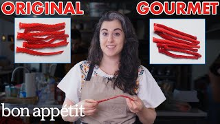 Download Pastry Chef Attempts To Make Gourmet Twizzlers | Gourmet Makes | Bon Appétit Video