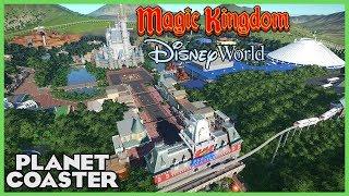 Download WALT DISNEY WORLD! Magic Kingdom! Park Spotlight 78 #PlanetCoaster Video