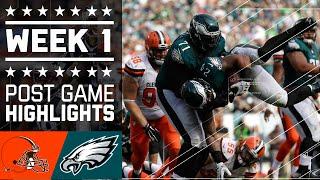 Download Browns vs. Eagles   NFL Week 1 Game Highlights Video