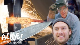 Download Brad Makes A Knife with Bob Kramer | It's Alive | Bon Appétit Video