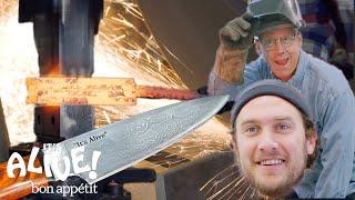 Download Brad Makes A Knife with Bob Kramer | It's Alive | Bon Appétit Video