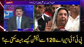 Download PTI NA-120 ka election kaisay jeet sakti hai? Video