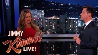 Download Sofia Vergara and Jimmy Kimmel Read Mean Internet Comments Video