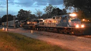 Download NS 4000 (blue nose) leads NS 175 SB at dusk Video