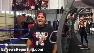 Download Abner Mares's birthday at the gym - esnews boxing Video