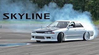 Download My New Skyline's FIRST (and Last) Drift Event Video