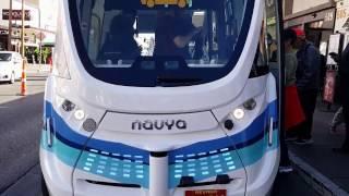 Download Autonomous Las Vegas Downtown Bus First Day driverless January 2017 Video