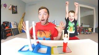 Download Father & Son PLAY FANTASTIC GYMNASTICS! Video