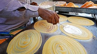 Download Cambodia Street Food - GIANT COCONUT PANCAKES Khanom Bueang Phnom Penh Video