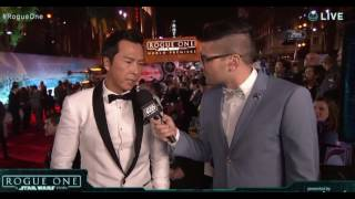 Download Donnie Yen Interview - Rogue One A Star Wars Story Red Carpet World Premiere Video