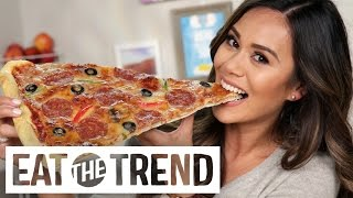 Download How to Make a Giant Pizza Slice | Eat the Trend Video