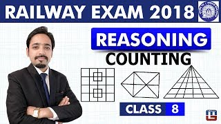 Download Counting of Figures | Reasoning | Class - 8 | RRB | Railway ALP / Group D | Live At 8 PM Video